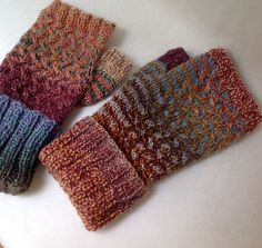"Ravelry // pattern: Tuuli Mitts by Lydia Gluck // yarn: Dyed In The Wool from Spincycle Yarns in colorway ""Kimono"""
