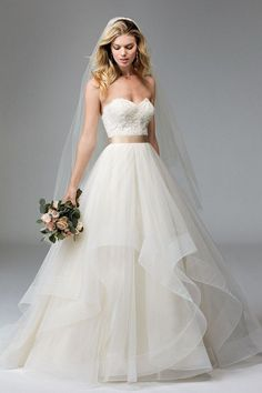 Help with dress alternatives (horsehair tulle – Hayley Paige, Lazaro, Tara Keely - Weddingbee