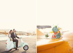 A Handmade Airplane Hangar Wedding: Kelly + Curtis – Part 2 | Green Wedding Shoes Wedding Blog | Wedding Trends for Stylish + Creative Brides