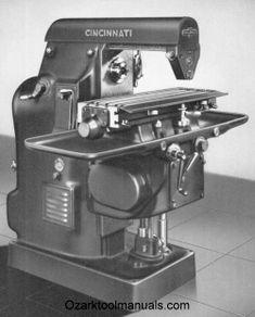 Cincinnati Nos. 1-12 & 1-18 Plain Automatic Milling Machines Model EA Operator's Instruction Manual
