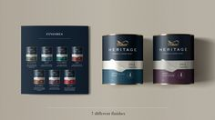 CONCEPT: DULUX Heritage packaging design concept on Behance