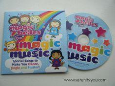 Magic Belles Kids Music CD Review #music #review #kids