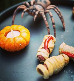 Halloween Food; Mummy Fingers; Spooky appetizers; Spooky treats for all ages