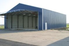 Aircraft Hangars | Steel Buildings and Metal Buildings | Worldwide Steel Buildings
