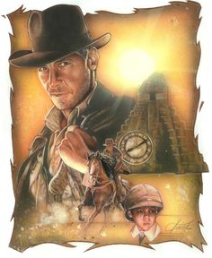 Indiana Jones:the legend by TrevorGrove on @DeviantArt