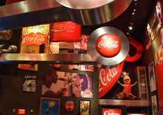 World of Coca Cola, Atlanta. Ne sono uscita in overdose di zuccheri e caffeina!