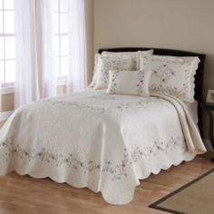 Always Home Amber Quilted Bedspread Coordinates