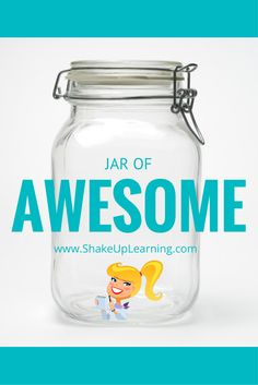 Celebrate Student Success with the Jar of Awesome! Social Skills Activities, Learning Resources, Kids Learning, Teaching Ideas, Team Motivation, Responsive Classroom, Cooperative Learning, Student Success, Beginning Of The School Year