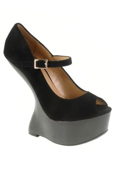 Chinese Laundry China Doll Curved Wedge in Black - Beyond the Rack Chinese  Laundry Shoes 1272cee70c400