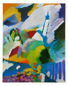 The Church in Murnau by Wassily Kandinsky. Print from Art.com