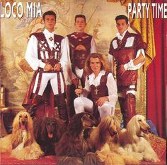 Four weirdly dressed guys posing with four dogs and talking about party time and going loco just doesn't give me a good feeling about this one.