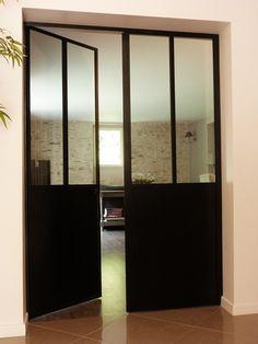 Envie de cette belle r alisation consultez nous www - Baie vitree ouverture accordeon ...