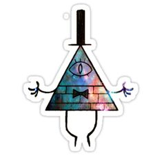 A Bill Cipher design from the 2012 series, Gravity Falls. • Also buy this artwork on stickers, apparel, phone cases, and more.