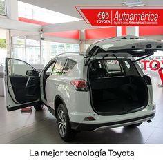 #Toyota #Rav4 el mejor diseño en un vehículo compacto y con un equipamiento versátil. ¿Sabías que tiene apertura automática de maleta y encendido inteligente? Pregunta por este excelente SUV en #Autoamérica en el 444 11 21 https://goo.gl/cMZ7TH    #ToyotaEsToyota