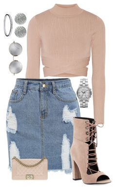 """""""Caramel Stunt"""" by believeindiamonds on Polyvore featuring Jonathan Simkhai, Kendall + Kylie, Chanel, Marc by Marc Jacobs, Monica Vinader and Linda Farrow"""