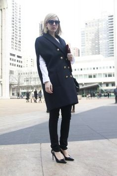 New York Fashion Week Fall 2013 Street Style, Part 2 | KENTON magazine