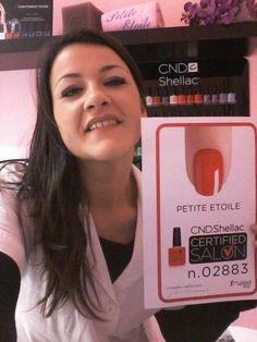 Diventa anche tu CND Shellac Certified Salon come PETITE ETOILE. Professionalità, qualità e competenza...e i prodotti CND. http://www.cndworld.it http://www.cndworld.it/store-locator