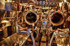Submarine interior | USS Bowfin Submarine (Interior), Pearl Harbor | TIA INTERNATIONAL ...