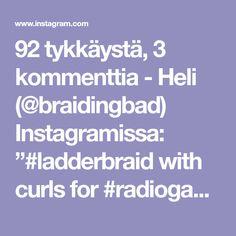 """92 tykkäystä, 3 kommenttia - Heli (@braidingbad) Instagramissa: """"#ladderbraid with curls for #radiogaala 👌😍 . . . #radiogaala2019 #gaalakampaus #tikapuuletti…"""""""