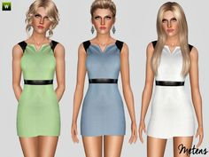 Momento dress by Metens - Sims 3 Downloads CC Caboodle