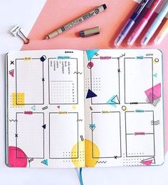 bullet journal weekly spread - bullet journal + bullet journal ideas + bullet journal layout + bullet journal inspiration + bullet journal doodles + bullet journal weekly spread + bullet journal ideas layout + bullet journal ideas pages Bullet Journal School, Bullet Journal Tracker Ideas, Bullet Journal Aesthetic, Bullet Journal Notebook, Bullet Journal Ideas Pages, Bullet Journal Spread, Bullet Journal Layout, Bullet Journal Inspiration, Arc Notebook
