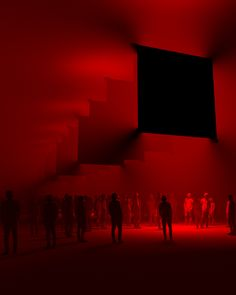 Generating Visual Art From Sound — Art Studio Olafur Eliasson, Instalation Art, Light Art Installation, I See Red, Arte Obscura, Red Wallpaper, Red Rooms, Red Aesthetic, Image Hd