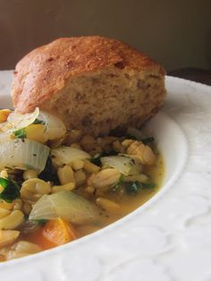 Chicken KAMUT® brand khorasan wheat Soup with Herbs de Provence