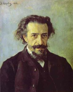 Valentin Serov (Russian 1865–1911) [Impressionism, Realism, Peredvizhniki, Portraits] Portrait of Pavel Blaramberg, 1888. Tretyakov Gallery, Moscow, Russia.