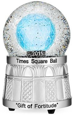 Waterford 2015 Times Square Snowglobe 4 - New Year's Celebration (party items, home decor, accessories)