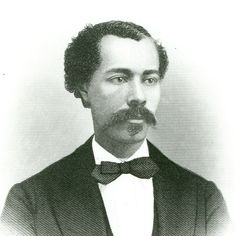 John Roy Lynch (September 10, 1847 - November 2, 1939) was the son of an enslaved mother and an Irish immigrant who died before he was able to free his family. Lynch was speaker of the Mississippi House of Representatives before serving 2 terms in the US House. Teddy Roosevelt nominated him Temporary Chair of the RNC in 1884. His book The Facts of Reconstruction is available online free here http://www.gutenberg.org/files/16158/16158-h/16158-h.htm #TodayInBlackHistory