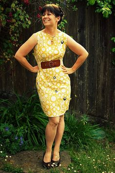 Retro pillowcase dress tutorial.