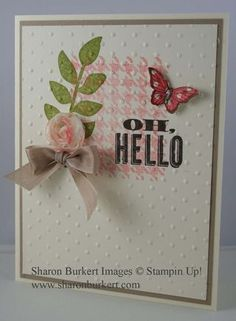 2013 Spring Catalog Oh Hello, Secret Garden, Papillon Potpourri & Beyond Plaid stamp sets Sunshine & Sprinkles DSP, FLower Trim, Bitty Butterfly Punch