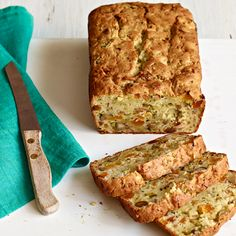 Our Favourite Zucchini Bread recipe is the perfect breakfast treat when it's toasted and served with a little Philly. #food