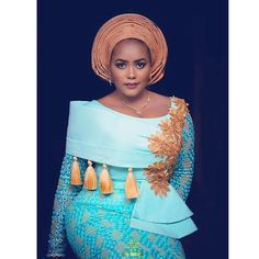2019 African Clothing: Latest And Creative Aso Ebi Styles For Ladies Latest African Fashion Dresses, African Dresses For Women, African Print Fashion, African Attire, African Wear, African Women, African Models, African Clothes, Ankara Fashion