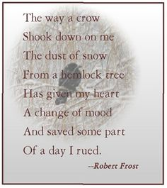 The symbolic meaning of objects in robert frosts acquainted with the night