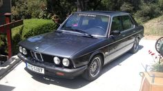 1984 BMW 528e. Straight six E28 with a 5-speed, what do you think, does it count as a classic yet?