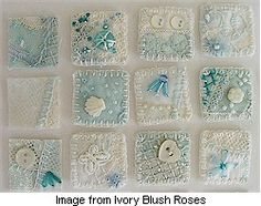Crazy quilt inchies · http://needlework.craftgossip.com/crazy-quilt-inchies/2009/01/15/   http://ivoryblushroses.blogspot.com/2009/01/inchies.html