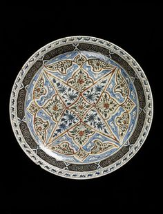 Dish      Place of origin:      Iran (made)     Date:      1650-1700 (made)     Artist/Maker:      Unknown (production)     Mater...