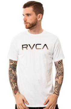 RVCA Tri-Bar T-Shirt (M600200T) $15.30 (save $8.70)