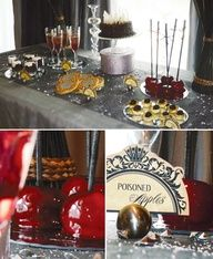 {Evil Queen} Snow White Party Theme // Hostess with the Mostess® Halloween Themes, Halloween Party, Haunted Halloween, Halloween 2019, Villains Party, Disney Villains, Snow White Evil Queen, Snow White Birthday, Partys