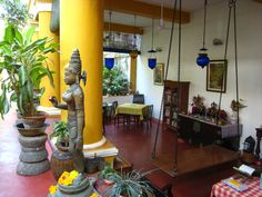 """""""Coloniale Heritage"""" guesthouse. Pondicherry (India)"""