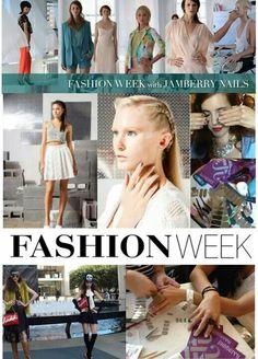 Made it to fashion week. Aubrih.jamberrynails.net
