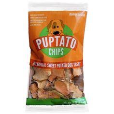 Puptato Chips - Sweet Potato Dog Treat