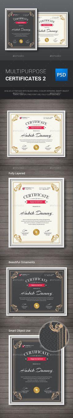 Multipurpose Certificates Template PSD. Download here: http://graphicriver.net/item/multipurpose-certificates-/11909636?ref=ksioks