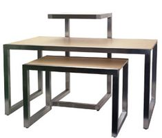 Retail Store Fixtures Display Tables | ... display table alta display large table this multi purpose table is