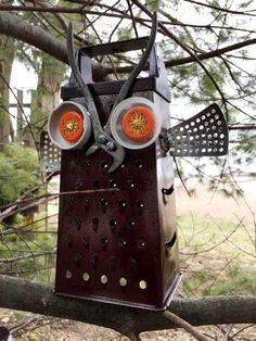 Plier-beaked owl