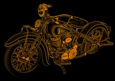 Indian motorcycle 1934 by tekcran, via Flickr