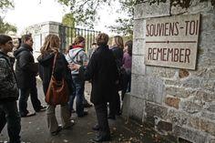 Entrée du village martyr Oradour sur Glane