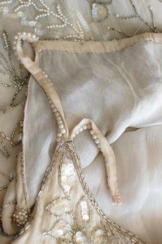 1920s dress / beaded 20s dress / Diaphanous Star by DearGolden, $1650.00