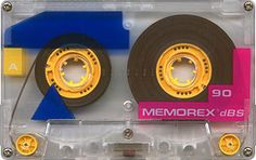 memorex cassette tape  It had to be 90 mins, not 60!!